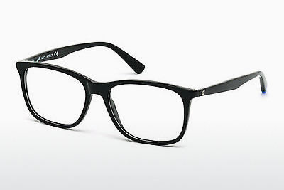 نظارة Web Eyewear WE5180 001 - أسود, Shiny