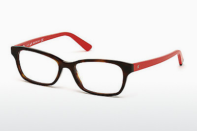 نظارة Web Eyewear WE5183 052 - بني, Dark, Havana