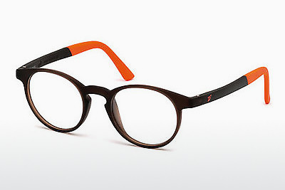 نظارة Web Eyewear WE5186 049 - بني, Dark, Matt