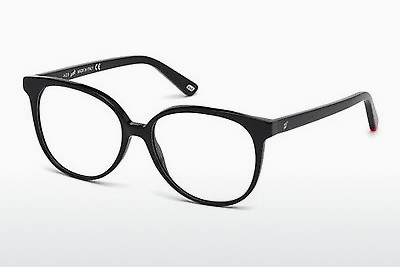 نظارة Web Eyewear WE5199 001 - أسود, Shiny