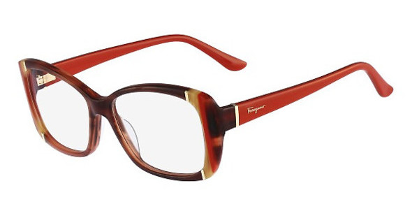 Salvatore Ferragamo SF2682 216 STRIPED BROWN
