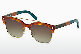 نظارة شمسية Dsquared DQ0207 53K - هافانا, Yellow, Blond, Brown