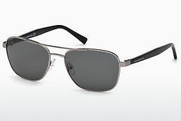 نظارة شمسية Ermenegildo Zegna EZ0068 14A - رمادي, Shiny, Bright