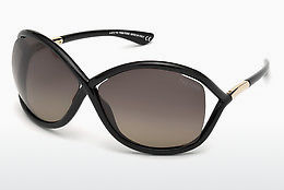نظارة شمسية Tom Ford Whitney (FT0009 01D) - أسود, Shiny
