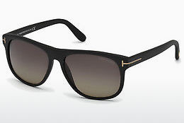 نظارة شمسية Tom Ford Olivier (FT0236 02D) - أسود, Matt