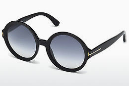 نظارة شمسية Tom Ford Juliet (FT0369 01B) - أسود, Shiny