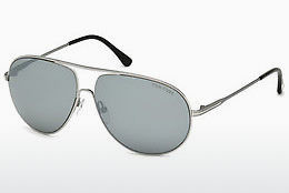 نظارة شمسية Tom Ford Cliff (FT0450 14C) - رمادي, Shiny, Bright
