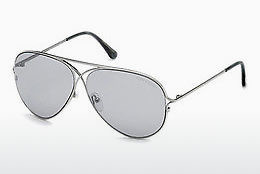 نظارة شمسية Tom Ford Tom N.4 (FT0488-P 14C) - رمادي, Shiny, Bright