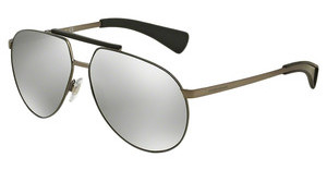 Dolce & Gabbana DG2152 11086G LIGHT GREY MIRROR SILVERMATTE GUNMETAL/MATTE MILITARY