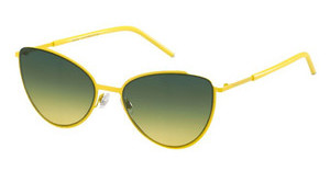 Marc Jacobs MARC 33/S TDX/JE GREEN YELLOWYELLOW (GREEN YELLOW)