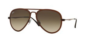 Ray-Ban RB4211 612213 GRADIENT BROWNMATTE DARK BROWN