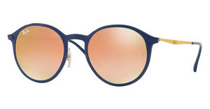 Ray-Ban RB4224 872/B9 GREEN GRAD BROWN MIRROR PINKBLUE