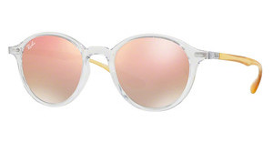Ray-Ban RB4237 62887Y GREY GRAD. BROWN MIRROR PINKTRASPARENT
