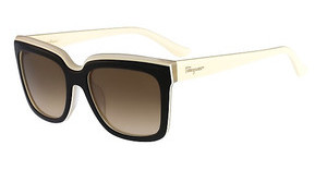 Salvatore Ferragamo SF758S 010 BLACK IVORY