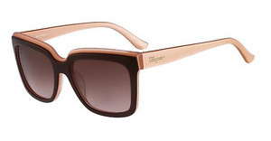 Salvatore Ferragamo SF758S 255 BROWN ROSE