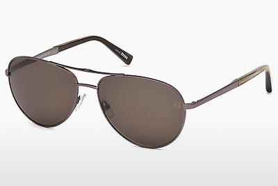 نظارة شمسية Ermenegildo Zegna EZ0035 34J - برونزي, Bright, Shiny