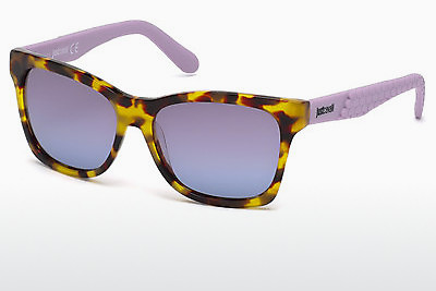 نظارة شمسية Just Cavalli JC649S 53W - هافانا, Yellow, Blond, Brown
