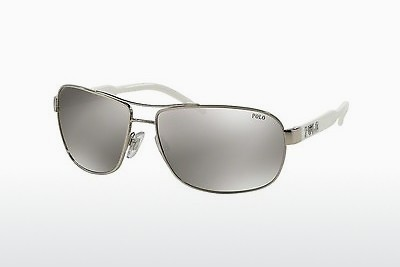 نظارة شمسية Polo PH3053 90018V - Silver-mirror-silver