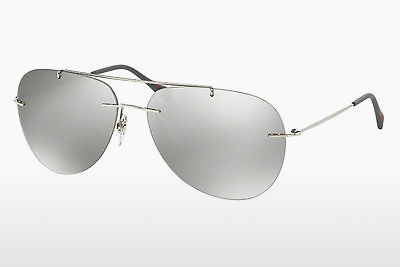 نظارة شمسية Prada Sport RED FEATHER (PS 50PS 1BC2B0) - أسود, Steel