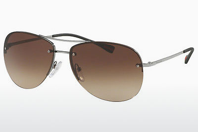 نظارة شمسية Prada Sport PS 50RS 5AV6S1 - رمادي