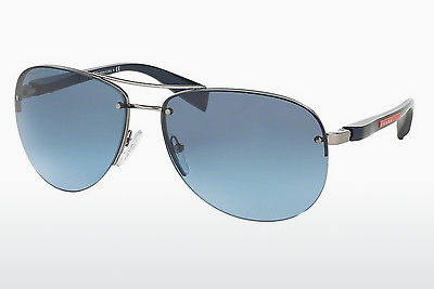 نظارة شمسية Prada Sport PS 56MS (65) (PS 56MS 5AS5I1) - فضي, Pewter