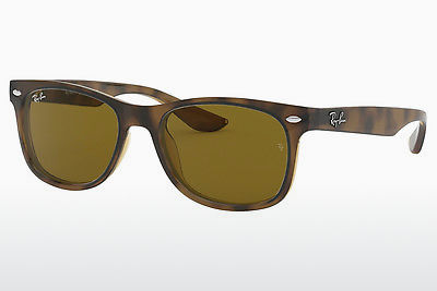 نظارة شمسية Ray-Ban Junior RJ9052S 152/3 - بني, هافانا