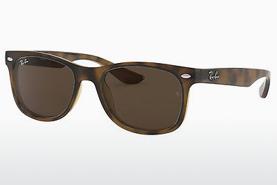 نظارة شمسية Ray-Ban Junior RJ9052S 152/73 - بني, هافانا