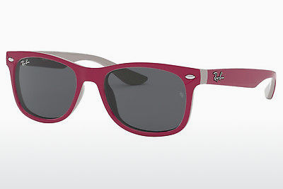نظارة شمسية Ray-Ban Junior RJ9052S 177/87 - أحمر, وردي, رمادي