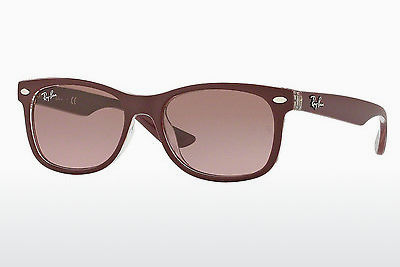 نظارة شمسية Ray-Ban Junior RJ9052S 702414 - أحمر, شفافة