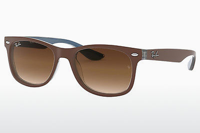 نظارة شمسية Ray-Ban Junior RJ9052S 703513 - بني, أزرق