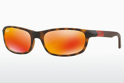 نظارة شمسية Ray-Ban Junior RJ9056S 70266Q - بني, هافانا