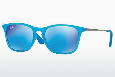 نظارة شمسية Ray-Ban Junior RJ9061S 701155 - أزرق, شفافة