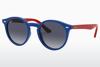 نظارة شمسية Ray-Ban Junior RJ9064S 70204L - أزرق