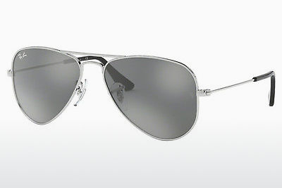 نظارة شمسية Ray-Ban Junior RJ9506S 212/6G - فضي