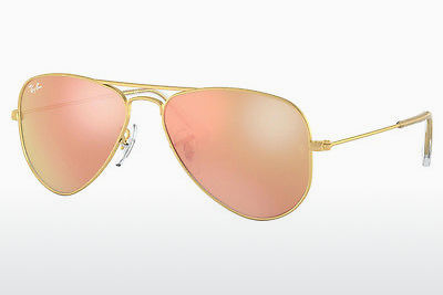 نظارة شمسية Ray-Ban Junior RJ9506S 249/2Y - ذهبي