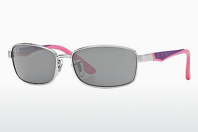 نظارة شمسية Ray-Ban Junior RJ9533S 212/87 - فضي