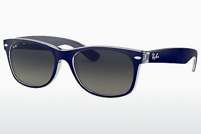 نظارة شمسية Ray-Ban NEW WAYFARER (RB2132 605371) - أزرق, شفافة