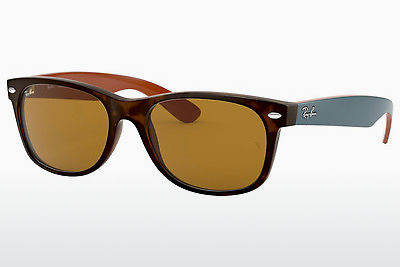 نظارة شمسية Ray-Ban NEW WAYFARER (RB2132 6179) - بني, هافانا
