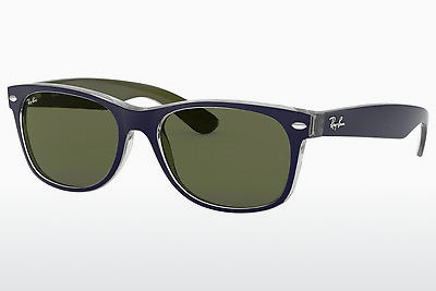 نظارة شمسية Ray-Ban NEW WAYFARER (RB2132 6188) - أزرق, أخضر
