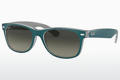 نظارة شمسية Ray-Ban NEW WAYFARER (RB2132 619171) - أزرق, رمادي