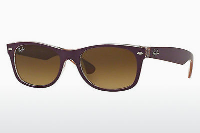 نظارة شمسية Ray-Ban NEW WAYFARER (RB2132 619285) - أرجواني, Violet