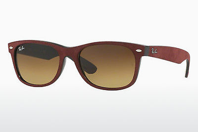 نظارة شمسية Ray-Ban NEW WAYFARER (RB2132 624085) - أسود, أحمر