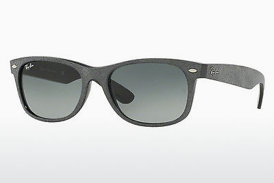 نظارة شمسية Ray-Ban NEW WAYFARER (RB2132 624171) - أسود, رمادي