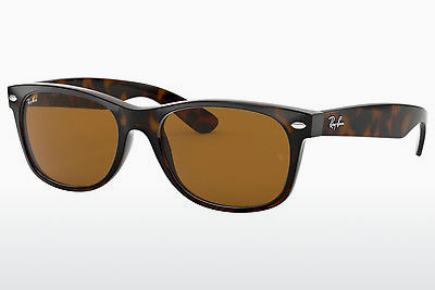 نظارة شمسية Ray-Ban NEW WAYFARER (RB2132 710) - بني, هافانا