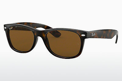 نظارة شمسية Ray-Ban NEW WAYFARER (RB2132 902/57) - بني, هافانا