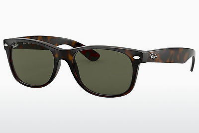 نظارة شمسية Ray-Ban NEW WAYFARER (RB2132 902/58) - بني, هافانا