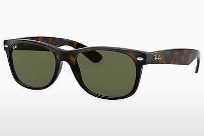 نظارة شمسية Ray-Ban NEW WAYFARER (RB2132 902) - بني, هافانا