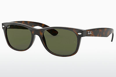 نظارة شمسية Ray-Ban NEW WAYFARER (RB2132 902L) - بني, سلحفاة