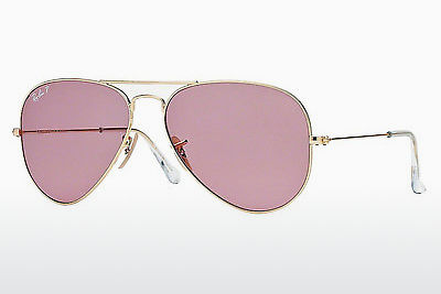 نظارة شمسية Ray-Ban AVIATOR LARGE METAL (RB3025 001/15) - ذهبي