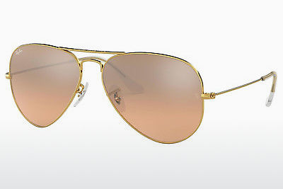 نظارة شمسية Ray-Ban AVIATOR LARGE METAL (RB3025 001/3E) - ذهبي